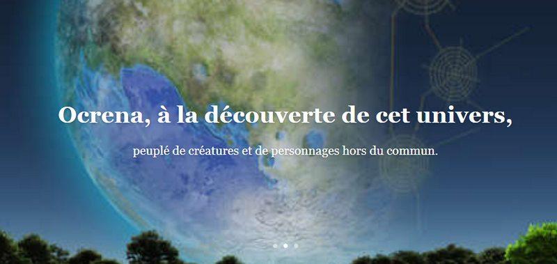 Ocrena livre fantastique de l'auteur français Paul Maltais