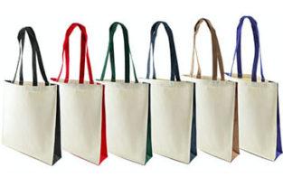 sac personnalisable en coton imprimé